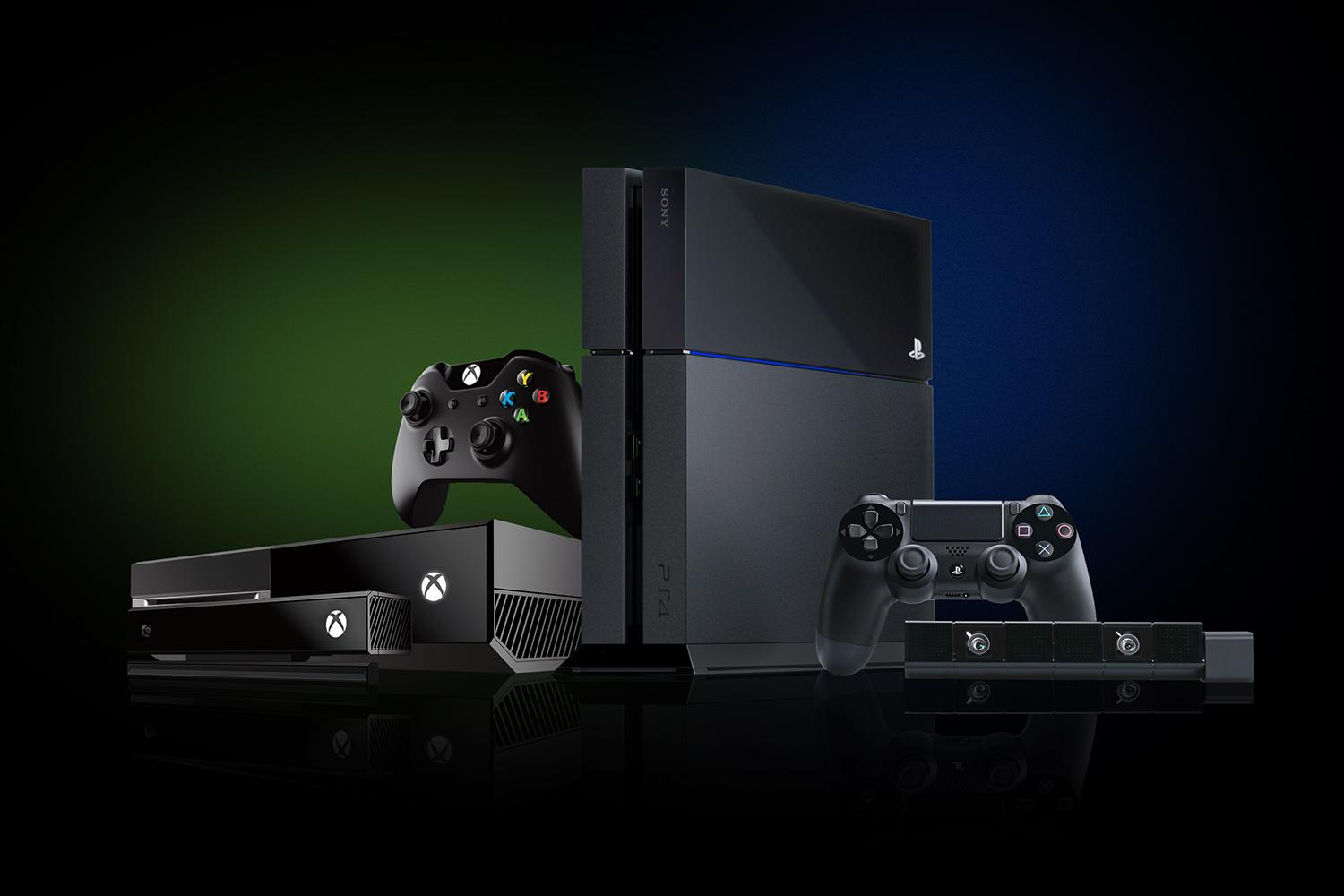 Xbox One Vs Playstation 4 : Playstation vs xbox one the first year kumazoku