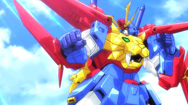 Gundam Build Fighters Try ep