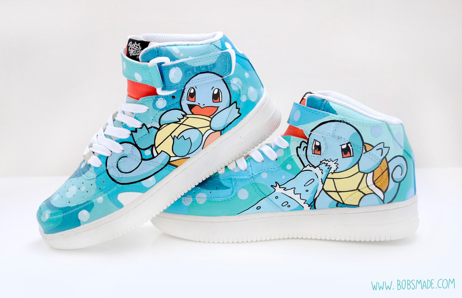 d47b0a91ddde Styling Pokemon Sneakers and Other Custom Shoe art